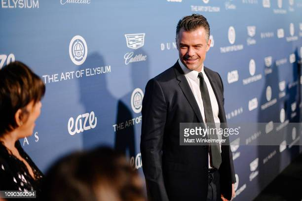 Josh Duhamel attends Michael Muller's HEAVEN presented by The Art of Elysium on January 05 2019 in Los Angeles California