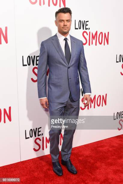 "Josh Duhamel attends Special Screening Of 20th Century Fox's ""Love, Simon"" - Arrivals at Westfield Century City on March 13, 2018 in Century City,..."