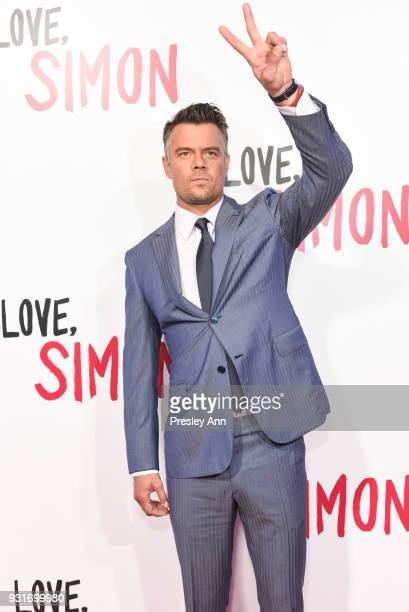Josh Duhamel attends Special Screening Of 20th Century Fox's 'Love Simon' Arrivals at Westfield Century City on March 13 2018 in Century City...