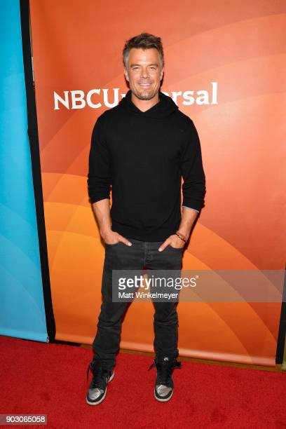 Josh Duhamel attends the 2018 NBCUniversal Winter Press Tour at The Langham Huntington Pasadena on January 9 2018 in Pasadena California