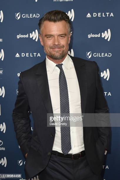 Josh Duhamel attends the 30th Annual GLAAD Media Awards at Beverly Hills Hotel on March 28 2019 in Beverly Hills California