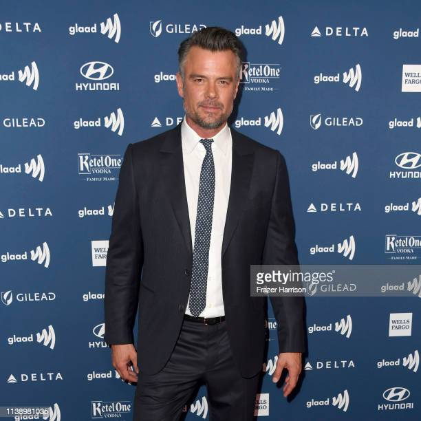 Josh Duhamel attends the 30th Annual GLAAD Media Awards at The Beverly Hilton Hotel on March 28 2019 in Beverly Hills California