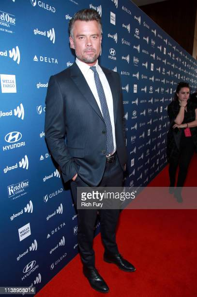 Josh Duhamel attends the 30th Annual GLAAD Media Awards Los Angeles at The Beverly Hilton Hotel on March 28 2019 in Beverly Hills California