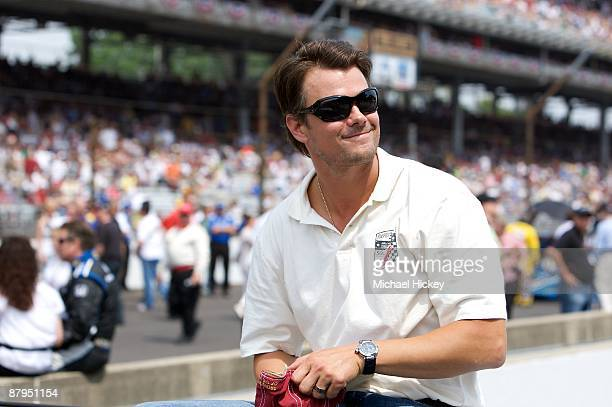 Josh Duhamel attends the 93rd running of the Indianapolis 500 at Indianapolis Motor Speedway on May 24, 2009 in Indianapolis, Indiana.