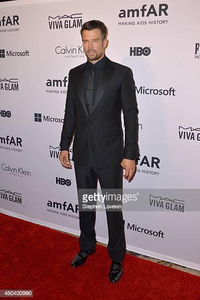 Josh Duhamel attends the amfAR Inspiration Gala New York 2014 at The Plaza Hotel on June 10 2014 in New York City