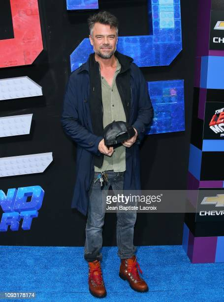 Josh Duhamel attends the premiere of Warner Bros Pictures' 'The Lego Movie 2 The Second Part' at Regency Village Theatre on February 2 2019 in...