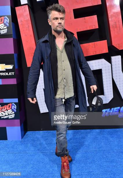 Josh Duhamel attends the premiere of Warner Bros Pictures' 'The Lego Movie 2 The Second Part' at Regency Village Theatre on February 02 2019 in...