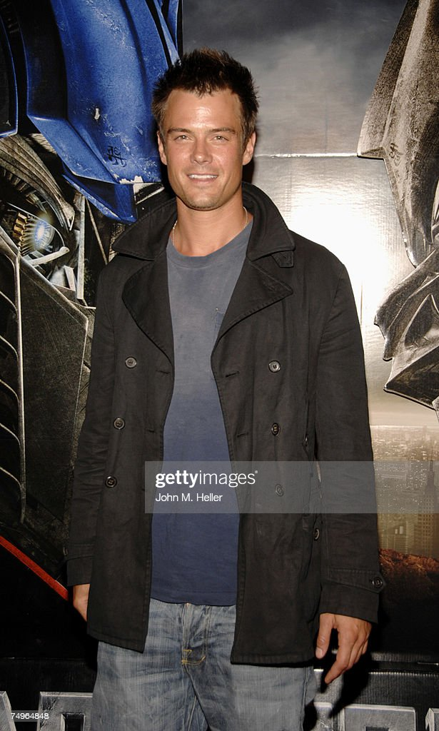 Josh Duhamel attends the 'Transformers' release party at Area on June 29, 2007 in Los Angeles, California.