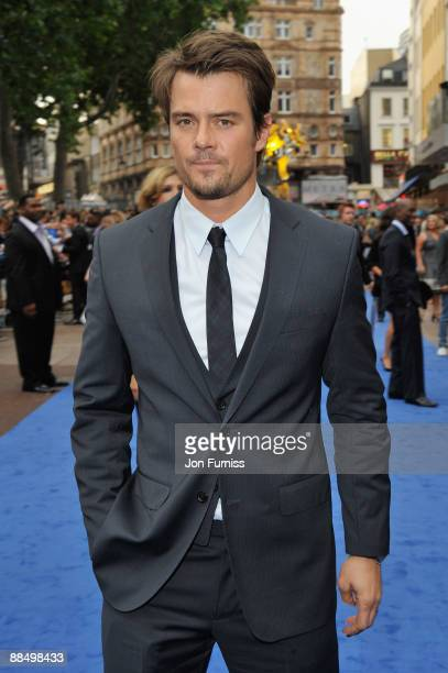 Josh Duhamel attends the UK premiere of 'Transformers Revenge of the Fallen' at Odeon Leicester Square on June 15 2009 in London England