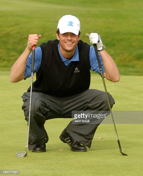 Josh Duhamel during Autism Speaks Celebrity Golf Tournament March 27 2006 in Pacific Palasades California United States