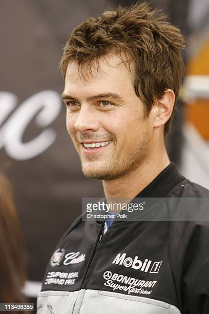 Josh Duhamel during The 5th Annual Cadillac Super Bowl Grand Prix at American Airlines Arena in Miami Beach Florida United States