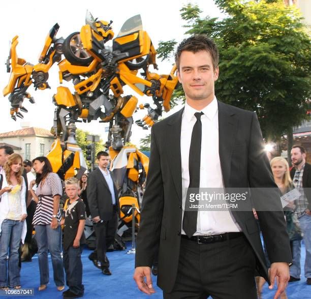 Josh Duhamel during Transformers Los Angeles Premiere Arrivals at Mann Village Theater in Westwood California United States