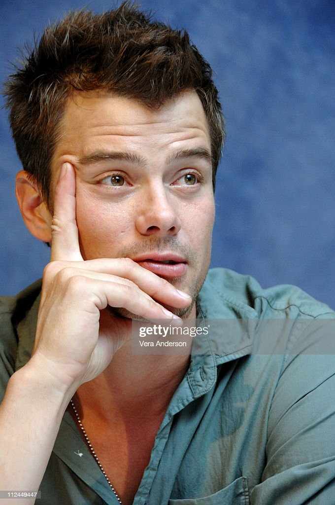 Josh Duhamel during 'Transformers' Press Conference with Josh Duhamel, Michael Bay, Shia LaBeouf and Megan Fox at The Sanderson Hotel in London, Great Britain.