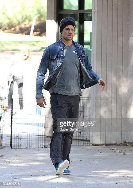 Josh Duhamel is seen on December 17 2015 in Los Angeles California