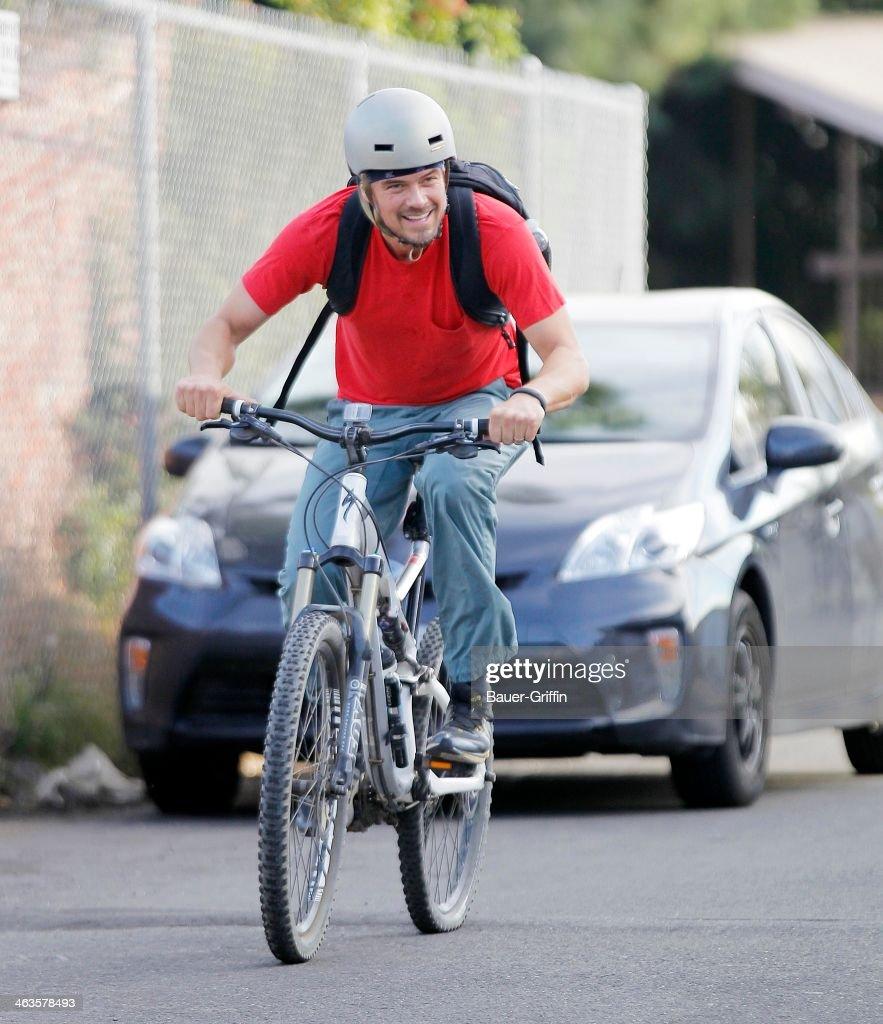 Josh Duhamel is seen on January 18, 2014 in Los Angeles, California.