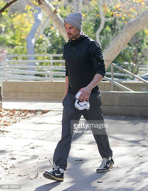 Josh Duhamel is seen on January 21 2016 in Los Angeles California