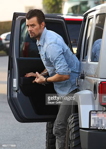 Josh Duhamel is seen on January 29 2014 in Los Angeles California