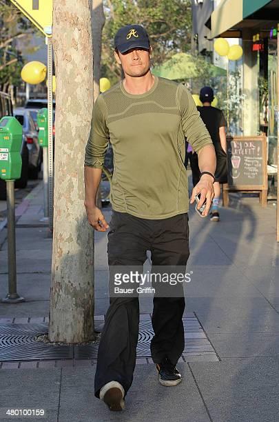 Josh Duhamel is seen on March 22 2014 in Los Angeles California