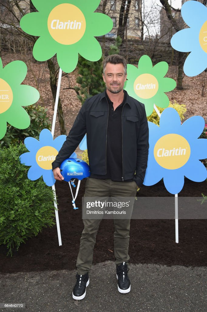 Josh Duhamel Partners with Claritin® and Boys and Girls Clubs of America to Launch the Be An Outsider Campaign on April 4, 2017 in New York City.