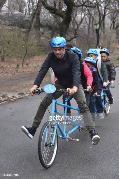 Josh Duhamel Partners with Claritin® and Boys and Girls Clubs of America to Launch the 'Be An Outsider Campaign' on April 4 2017 in New York City