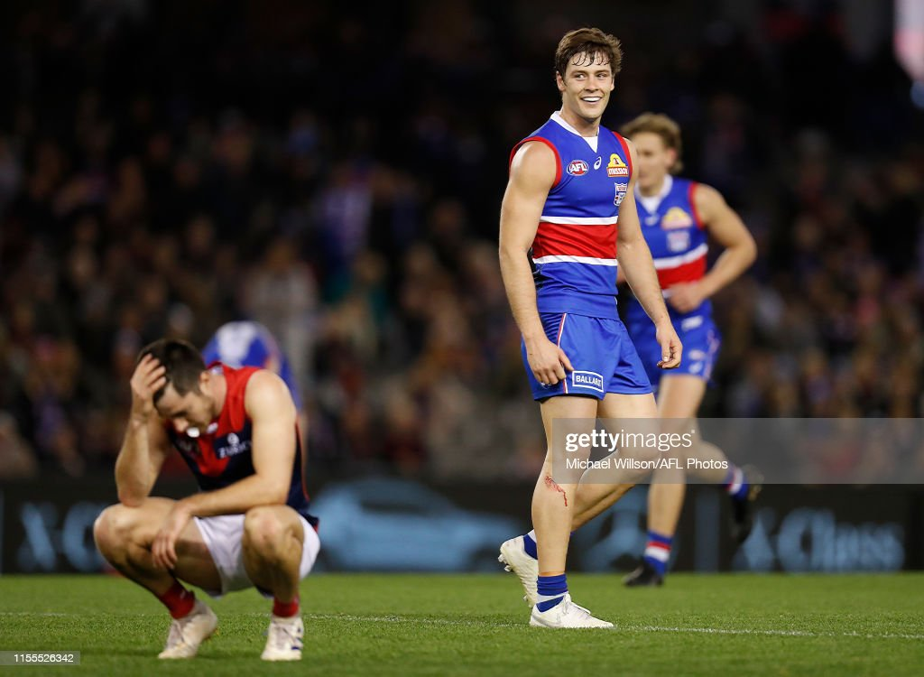 AFL Rd 17 - Western Bulldogs v Melbourne : News Photo