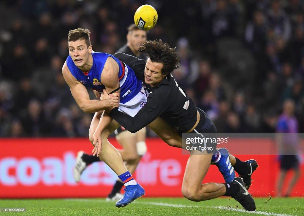 AFL Rd 22 - Carlton v Western Bulldogs