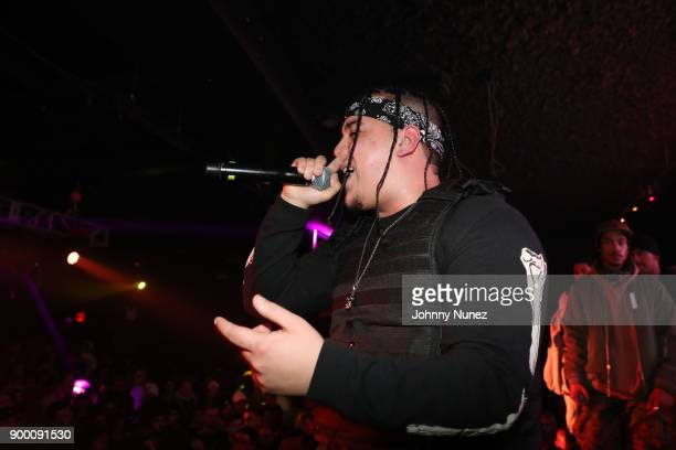 Josh DWH performs at FREQ NYC on December 30 2017 in New York City