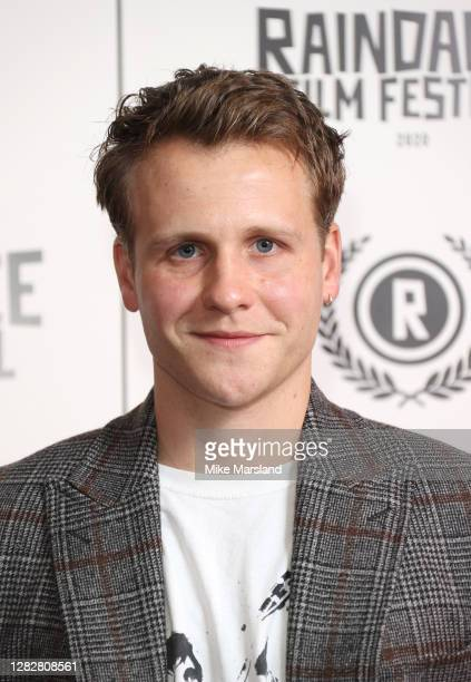 """Josh Dylan attends the """"Stardust"""" Opening Film & UK Premiere during the 28th Raindance Film Festival at The May Fair Hotel on October 28, 2020 in..."""