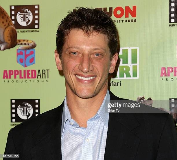 Josh Feinman attends 'Delhi Safari' Los Angeles premiere at Pacific Theatre at The Grove on December 3 2012 in Los Angeles California