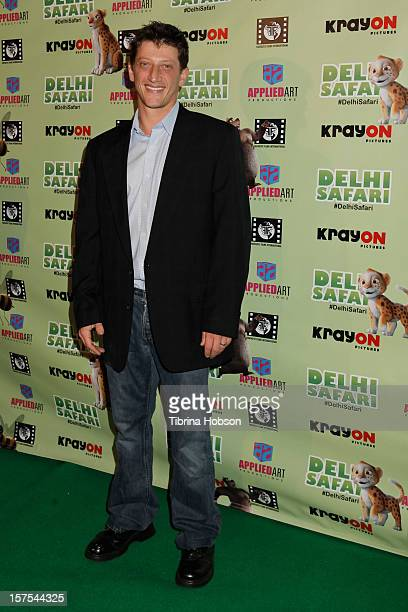 Josh Feinman attends the Delhi Safari Los Angeles premiere at Pacific Theatre at The Grove on December 3 2012 in Los Angeles California