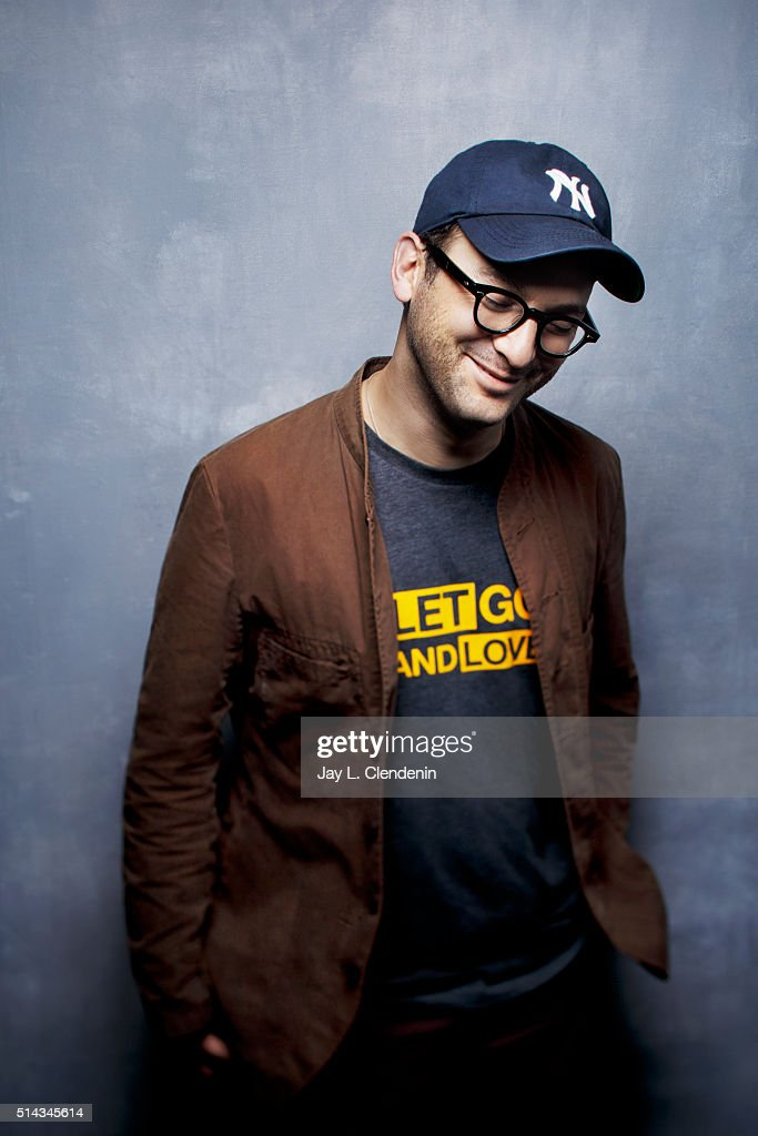 Josh Fox, director from the film 'How to Let Go of the World and Love All the Things Climate Can't Change' poses for a portrait at the 2016 Sundance Film Festival on January 24, 2016 in Park City, Utah.