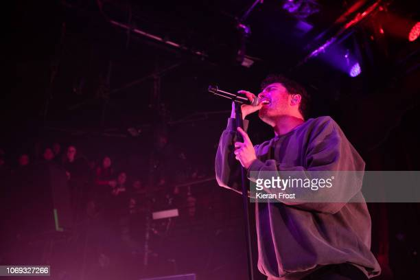 Josh Franceschi of You Me At Six performs at The Academy on November 18 2018 in Dublin Ireland