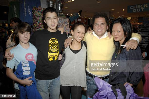 Josh Freud Cory Silverstein Leanna Silverstein Romero Britto and Alina Chen attend Candy Lover Dylan's Candy Bar hosts VIP opening event for Romero...