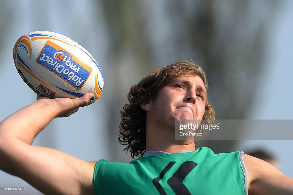 Aironi Rugby Training Session : News Photo