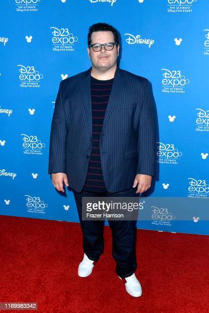 Josh Gad attends Go Behind The Scenes with Walt Disney Studios during D23 Expo 2019 at Anaheim Convention Center on August 24 2019 in Anaheim...