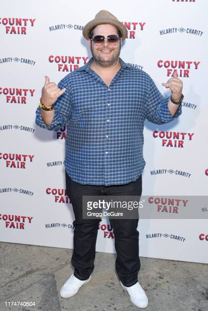 Josh Gad attends Hilarity For Charity's County Fair hosted by Seth Rogen Lauren Miller Rogen at The Row on September 14 2019 in Los Angeles California
