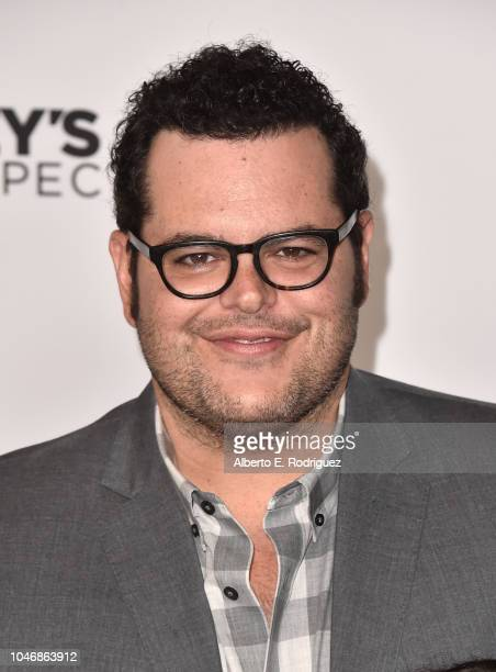 Josh Gad attends Mickey's 90th Spectacular at The Shrine Auditorium on October 6 2018 in Los Angeles California