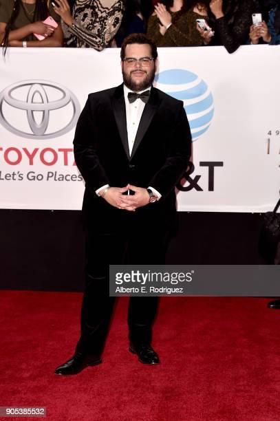 Josh Gad attends the 49th NAACP Image Awards at Pasadena Civic Auditorium on January 15 2018 in Pasadena California
