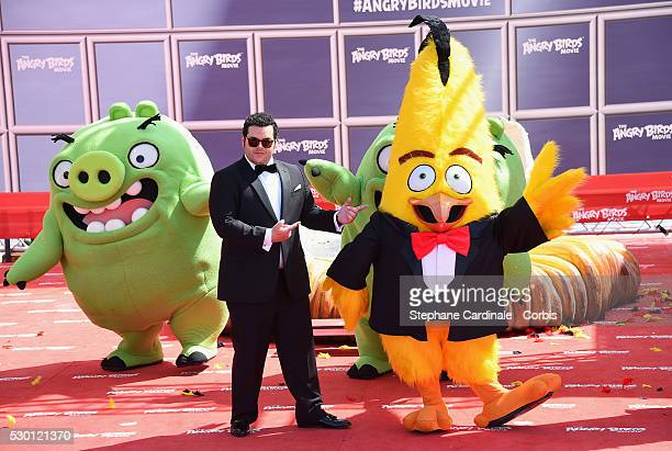 Josh Gad attends The Angry Birds Movie Photocall during the annual 69th Cannes Film Festival at JW Marriott on May 10 2016 in Cannes France