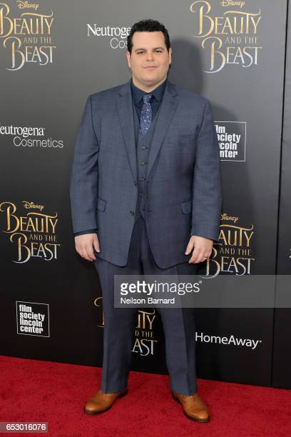 Josh Gad attends the 'Beauty And The Beast' New York Screening at Alice Tully Hall at Lincoln Center on March 13 2017 in New York City