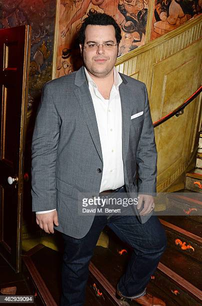 Josh Gad attends The Box 4th Birthday Party in partnership with Belvedere Vodka at The Box on February 7 2015 in London England