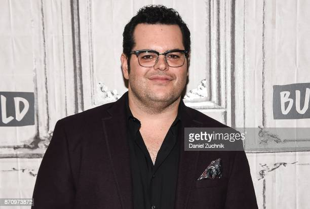 Josh Gad attends the Build Series to discuss the new film 'Murder on The Orient Express' at Build Studio on November 6 2017 in New York City