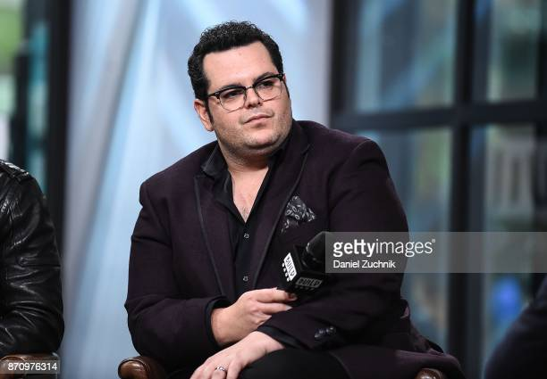 Josh Gad attends the Build Series to discuss the new film 'Murder on The Orient Express' at Build Studio on November 6, 2017 in New York City.