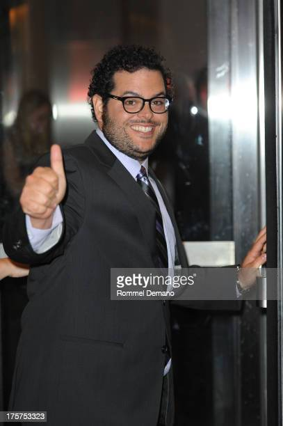 """Josh Gad attends the """"Jobs"""" premiere at The Museum of Modern Art on August 7, 2013 in New York City."""