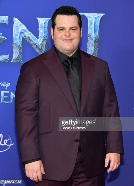 """Josh Gad attends the Premiere of Disney's """"Frozen 2"""" at Dolby Theatre on November 07, 2019 in Hollywood, California."""