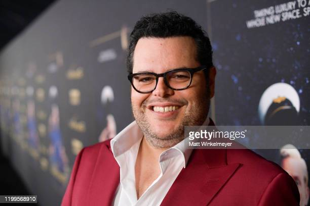 Josh Gad attends the premiere of HBO's Avenue 5 at Avalon Theater on January 14 2020 in Los Angeles California