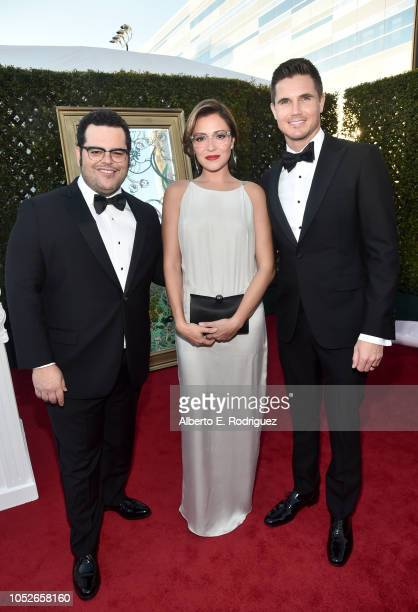 Josh Gad Italia Ricci and Robbie Amell attend the 2018 Children's Hospital Los Angeles 'From Paris With Love' Gala at LA Live on October 20 2018 in...