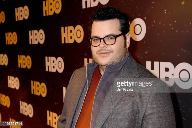 Josh Gad of 'Avenue 5' poses in the green room during the 2020 Winter Television Critics Association Press Tour at The Langham Huntington, Pasadena...
