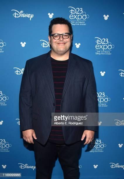 Josh Gad of 'Frozen 2' took part today in the Walt Disney Studios presentation at Disney's D23 EXPO 2019 in Anaheim Calif 'Frozen 2' will be released...