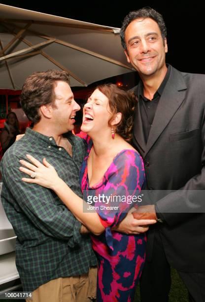 Josh Goldsmith, Joely Fisher and Brad Garrett during 2006 Fox TCA Party - Inside at Ritz Carlton in Pasadena, California, United States.